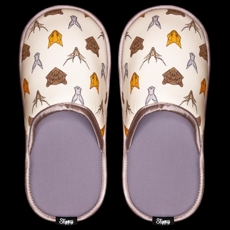 Pantofle se zvířecím motivem